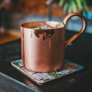 Cran-apple Mule Cocktail