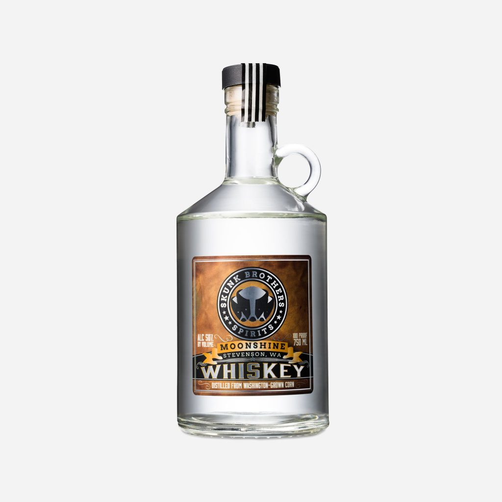 Skunk Brothers Moonshine Corn Whiskey