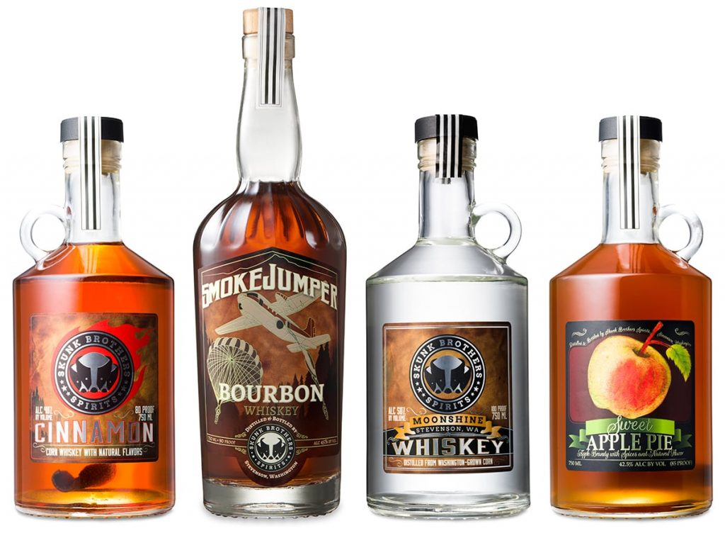 Skunk Brothers Spirits Featured Line