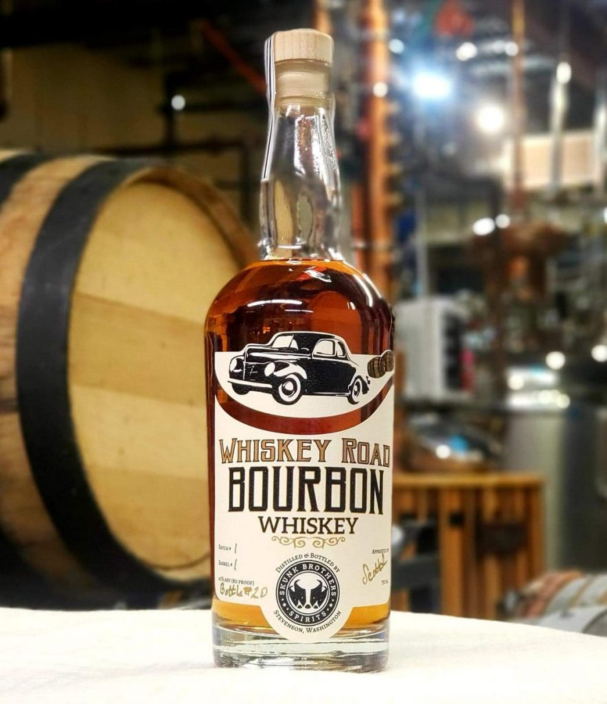 Skunk Brothers Bourbon Whiskey
