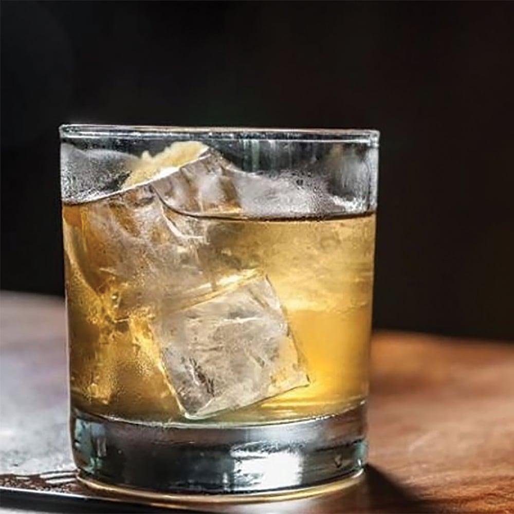 Moonshine Whiskey Blonde Manhattan